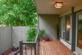 Outdoor space & deck